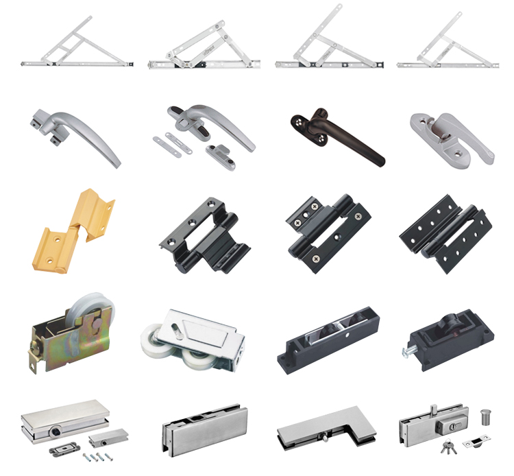 High quality cheap new design aluminium window handle lock