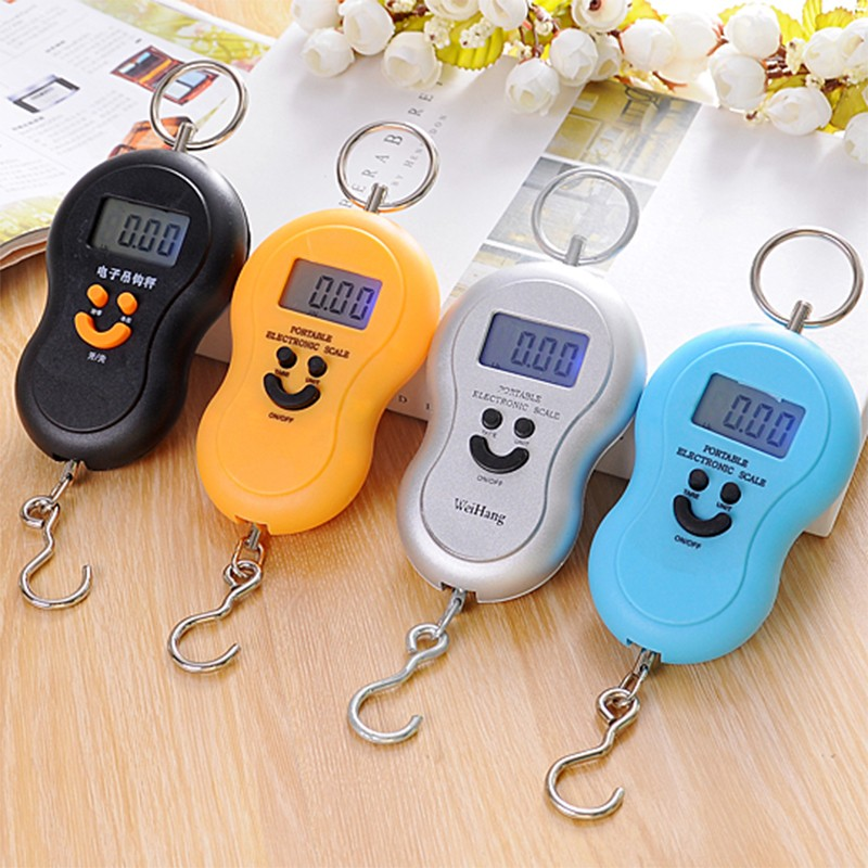 CE ROHS ABS electronic 50 kg luggage scale kmart with OEM logo