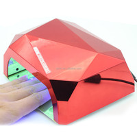 2015 Hot sale LED Nail Lamp, LED Nail Dryer, Curing Nail Polish 36W CCFL UV Gel Diamond Shaped Auto-Induction