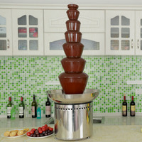 Wedding Large 7 tiers Commercial Chocolate Fountain
