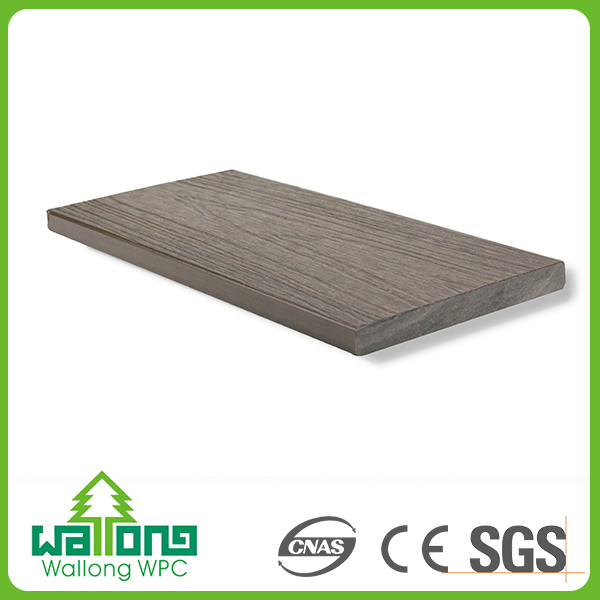 High quality wpc co-extrusion shield grey engineered wood floors