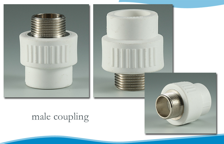 Ppr pipe fitting for domestic water rotating fittings