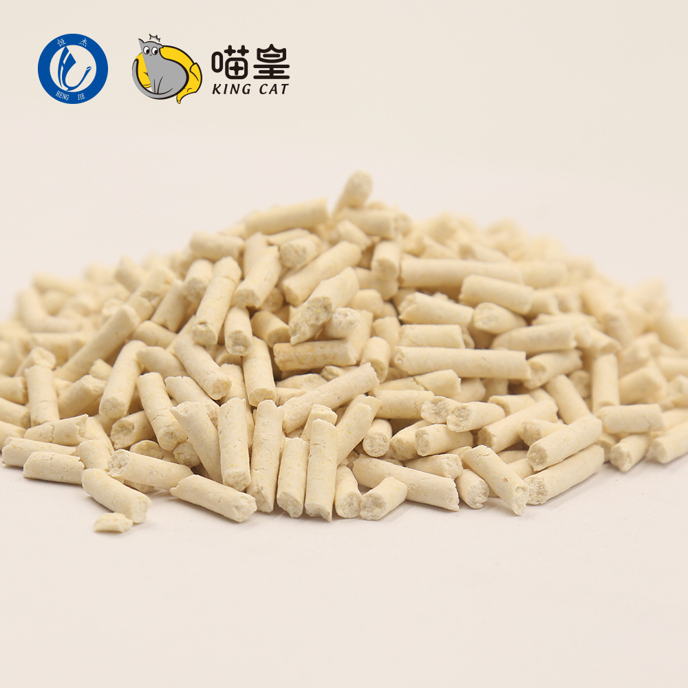 2017 New Pet Product Ultra Premium Clumping Tofu Cat Litter