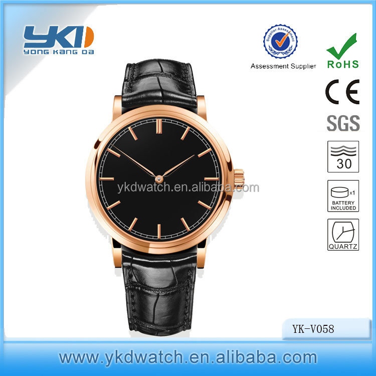 2016 hot selling trendy corniche watch for man good quality butterfly buckle man watch