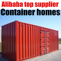 Refugee Workforce Storm Proof Prefabricated Beautiful Container