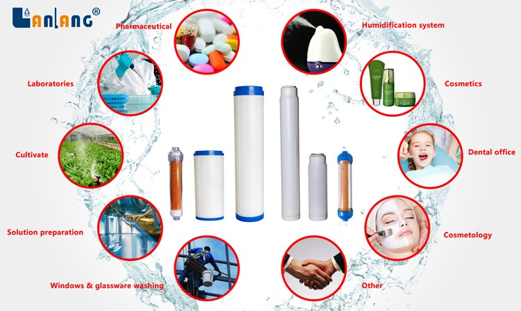 DI-1 so pure water filter cartridge supplier