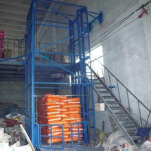 Electric freight lift elevators for goods lift price/warehouse hydraulic cargo lift for sale