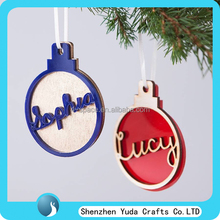personality custom Christmas bauble gifts tree decoration ornament wholesale