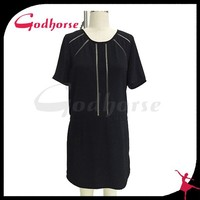 Middle aged women fashion dress hot product in China