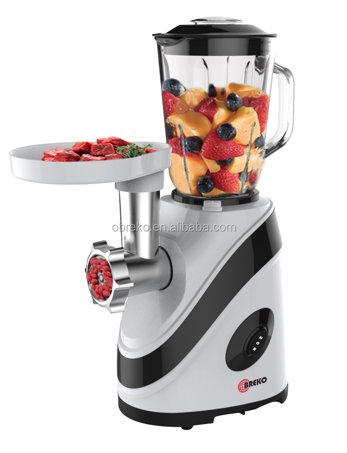 Multi function 1000W household use best food processor with fruit blender