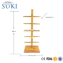 Natural Bamboo Stand for sunglasses Bamboo RACKS