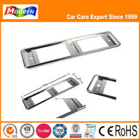 abs plastic car license plate frame
