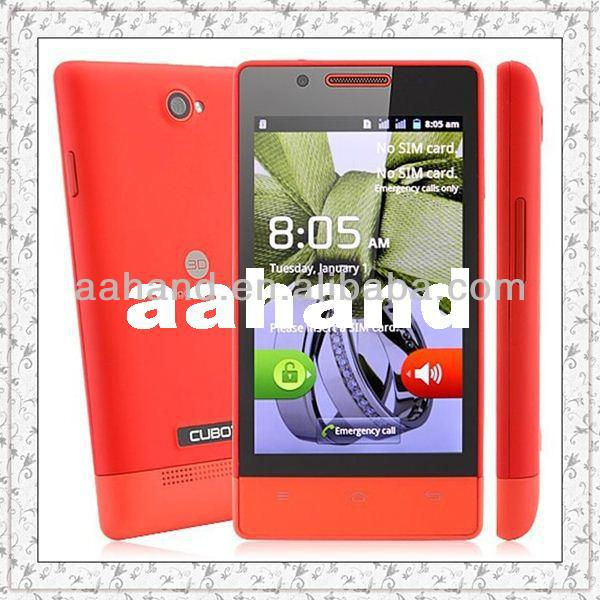 Original Cubot C9+ Android smart phone MTK6572W Dual core Android 4.2 256MB RAM 512MB ROM Dual SIM Cards Dual Standby GSM GPS