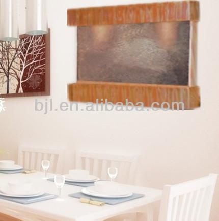 Delgada paneles de pizarra decoraci n de la pared interior - Fuente decoracion interior ...