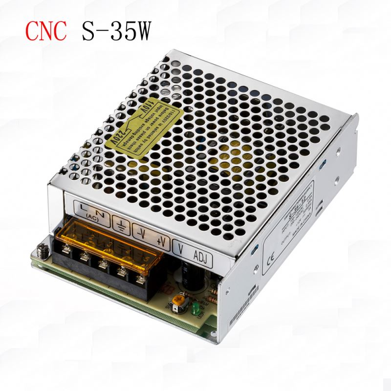 ce rohs certificated 35w 24v 1.5a single output switching power supply