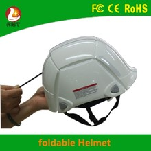 China supplier unique patent Foldable safety helmet