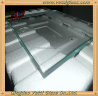 clear float 8mm plain glass price from manufacturer