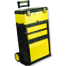 GD2096 Tool Box Mobile 3 Module Trolley Unit Tow and Storage Trays Chest Cart