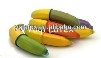 natural latex rubber male condom with ISO CE