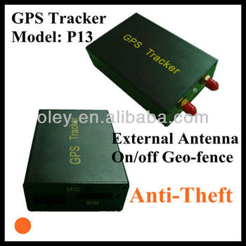 Anti-theft GPS Tracker GSM/ GPS Car Tracker easy to install and operate