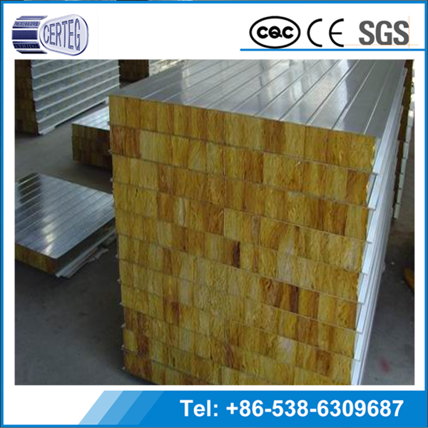 Best Sale Company Good quality and high desity rockwool sandwich panel