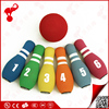 kids sport toy factory indoor nbr foam bowling game plastic bowling pins and ball