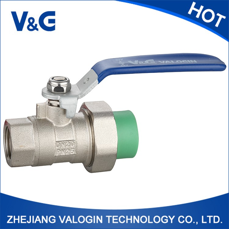 Quality-Assured On Time Delivery Plastic Ball Valve