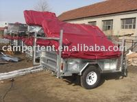 high quality camper trailer with tent