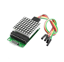 2017 Factory Outlet MAX7219 Dot Led Matrix Module with cable MCU LED Display Control Module Kit for Uno R3