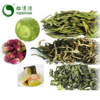 B01B Rose Flower Detox Herbal Bubble Tea , Chinese Organic Slimming Puer Matcha White Oolong Black Green Tea
