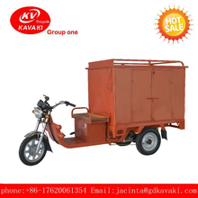 2017, the new large capacity climbing electric three wheel express vehicles, goods transport electric cargo tricycle