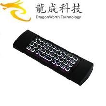 Factory price MX3 backlight Keyboard 2.4G Remote Control Wireless +air mouse for Android TV Box