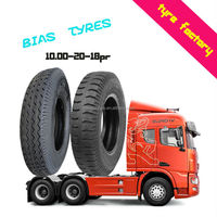 10.00-20-18PR durable heavy duty truck bias tires TBB nylon tyres