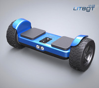"8.5"" All Terrain Road Condition LITBOT 8.5inch Safety Certified UL 2272 Off-Road Hoverboard with Bluetooth Speakers"