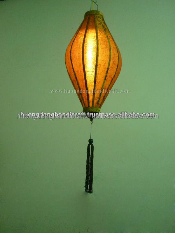 Original Lantern for Decoration - Made from bamoo frame and silk-100% handmade in Vietnam