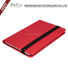 hand-make case manufa Multicolor plain pu leather stand auto sleep-wake up case for 2017 new ipad mini cover with closure strap