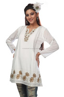Ladies Stylish Embroidered Designer Kurtis,