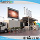 Mobile led screen trailer for advertising billboard P8 P10 led mobile truck for sale