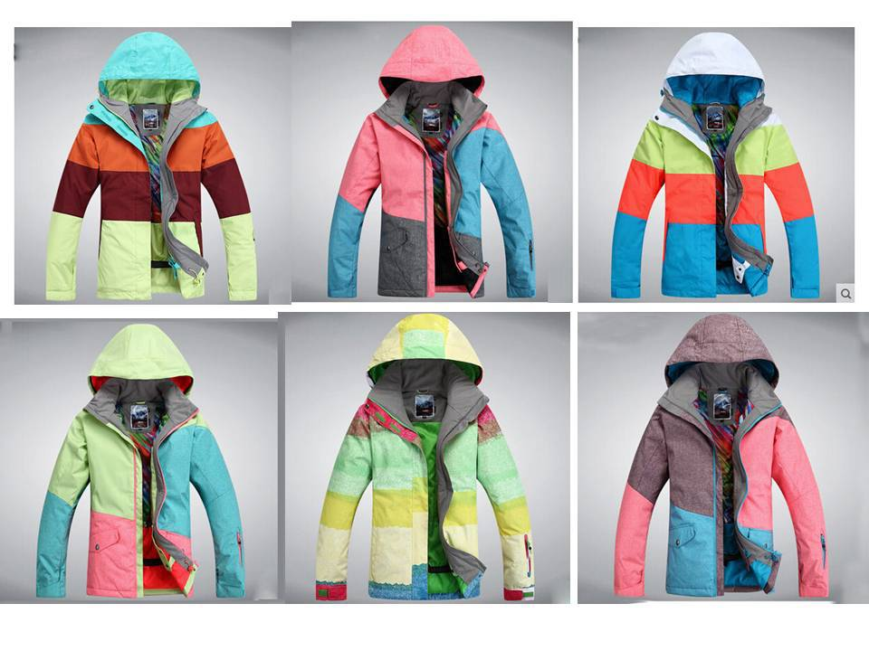 2015 sample time for winter season outdoor ski jacket men