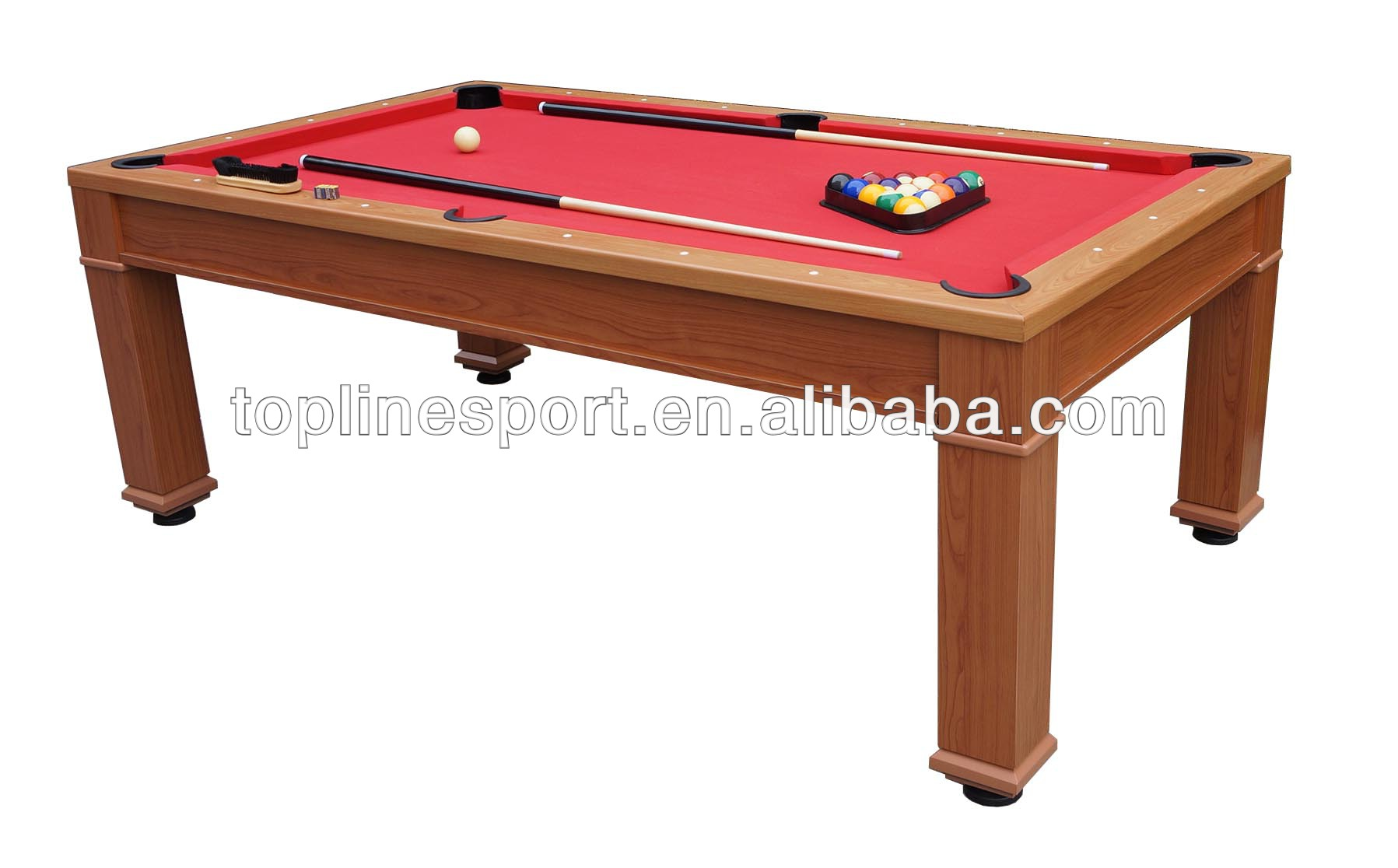 7ft High end 3 in 1 Dining Pool Table T58403