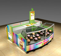 High grade fast food counter design, woodend bar counter design for sale