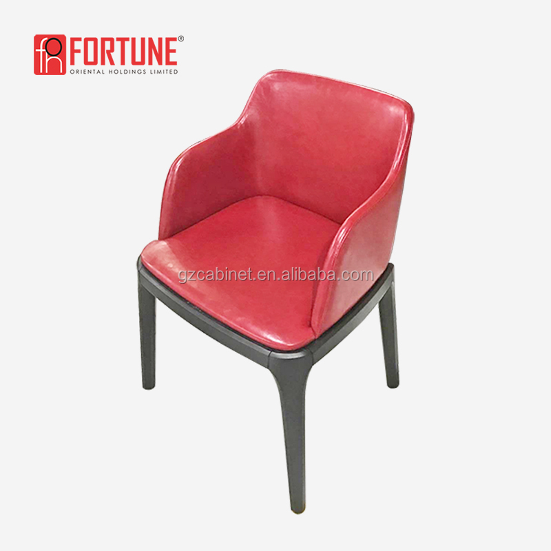 restaurant chairs red american style chair restaurant vintage FOH-17042Y