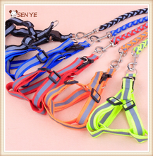 Wholesale Nylon Weave Reflective Hands Free Dog Leash