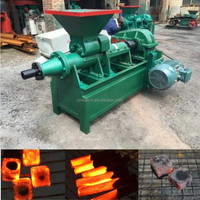 BBQ Use Sawdust Briquette Charcoal Making Machine