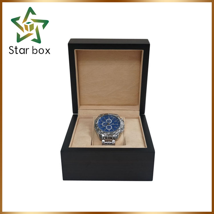 wristwatch case cheap price watch case, oem wood material watch boxes