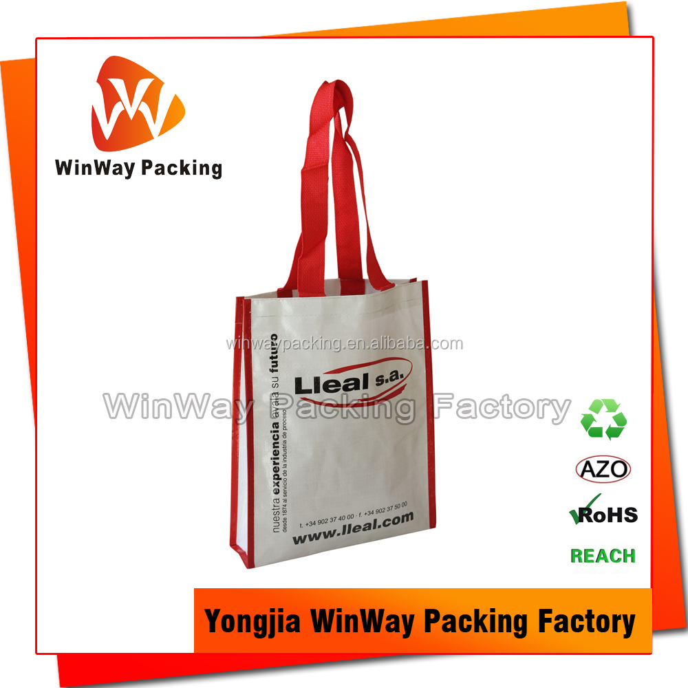 China Recycled PP Woven Shopping Bag Manufacturer
