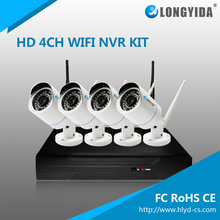 CCTV Camera System 4CH 1080P 4MP Waterproof Wireless Wifi NVR Kits