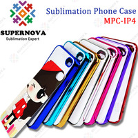 Sublimation Electroplate Color Case for iPhone 4 4s