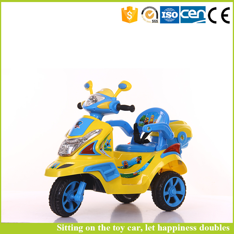 Children car battery baby car seat cover 3 wheel motorcycle for boys