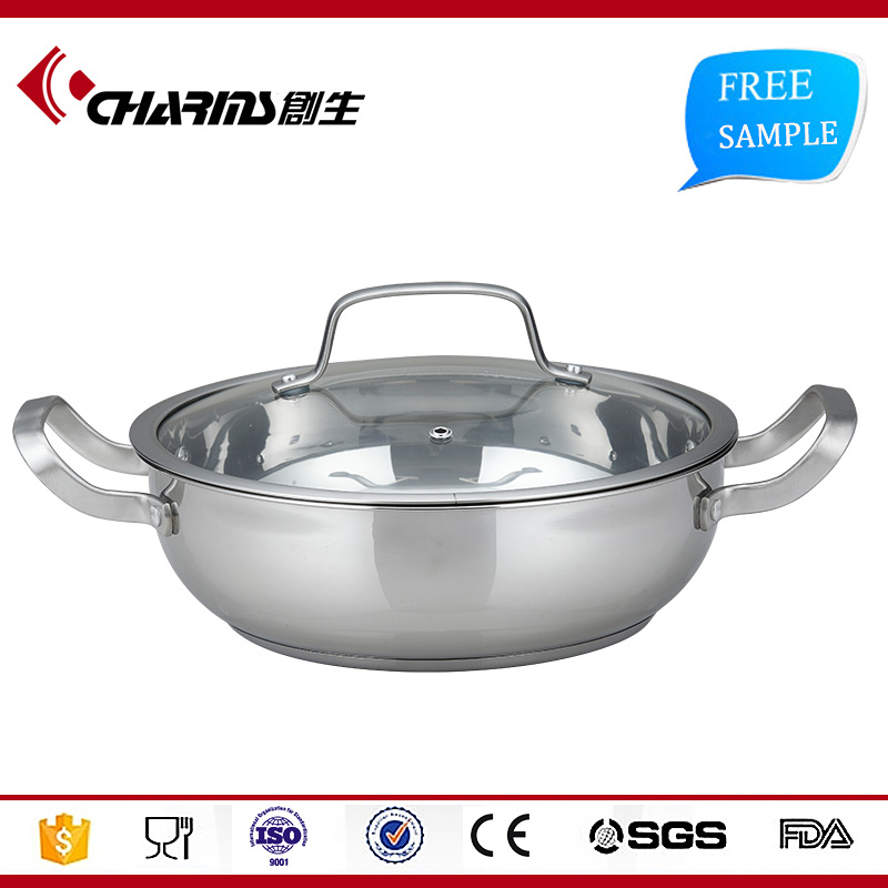 New design stainless steel pots insulated casserole hot pot